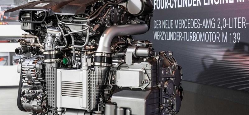 Új rekord: végletekig kihegyezett, szupererős Mercedes motort mutattak be