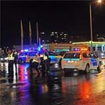 Rendőrautó gázolt a Szentendrei úton
