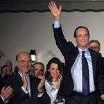 Francia elnökválasztás: Hollande az élen