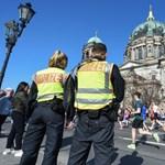 Berlinben ma meghiúsítottak egy terrortámadást