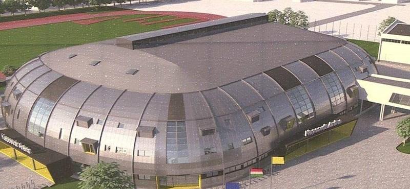 Fideszes polgármester: Magyarország megújításának szimbóluma a 6 milliárd forintos sportcsarnok