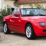 Harmincéves, de a felét simán letagadhatná – BMW Z1 menetpróba