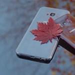 Tényleg szép: az évszakhoz illően öltöztette fel a Samsung a Galaxy S8-at