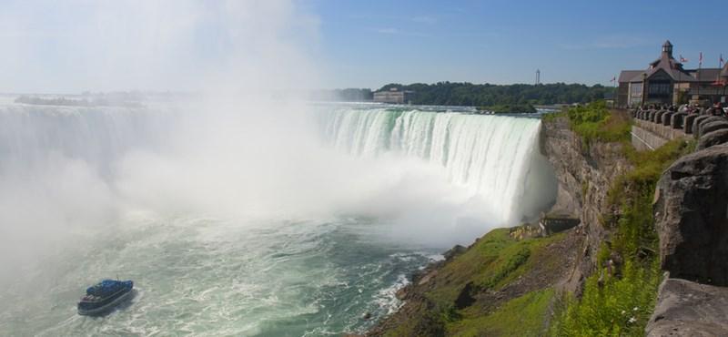 Egy japán lány belezuhant a Niagara-vízesésbe, de egy férfi hullája került elő