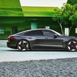 646 lóerővel érkezett meg az új Audi RS e-tron GT villanyautó