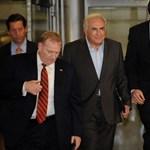 DSK baráti beszélgetéseket folytatott francia szocialista politikusokkal