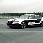 Sofőr nélküli Audi RS7 is indul a DTM szezonzáróján