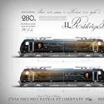 Óriási ismert arc kerül fel egy MÁV-mozdonyra – látványterv