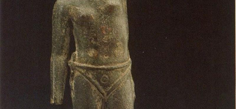 Fotó: női gladiátort is ábrázolhat egy ókori bronzszobor