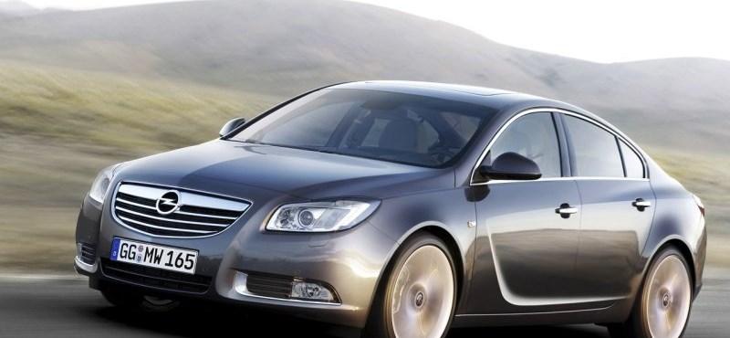 Gázos lett az Opel Insignia