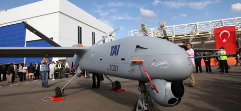 Már nyáron bevethetik a törökök a pilóta nélküli repülőgépeiket