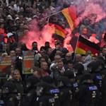 Több tüntetés is volt hétfőn Chemnitzben – fotók