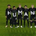 Az emberi jogokról üzent Katarnak a német fociválogatott