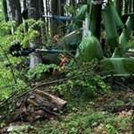 Helikopteres cigicsempész zuhant le Romániában