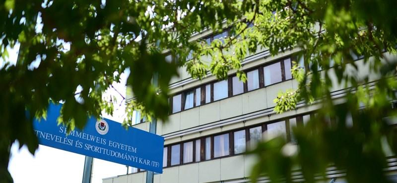 TF-botrány: az egyetem rektora további vizsgálatot rendelt el