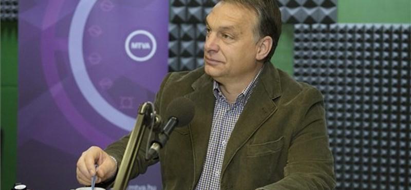 """Orbán a NAV-botrányról: """"Mi nem tudunk dokumentumokról"""""""