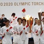 Elindult Fukusimából Tokióba az olimpiai láng