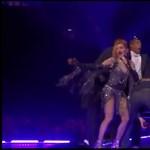 Madonna elfenekelte a színpadon a CNN műsorvezetőjét – videó