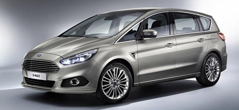 Sportos családok kedvence lehet az új Ford S-Max