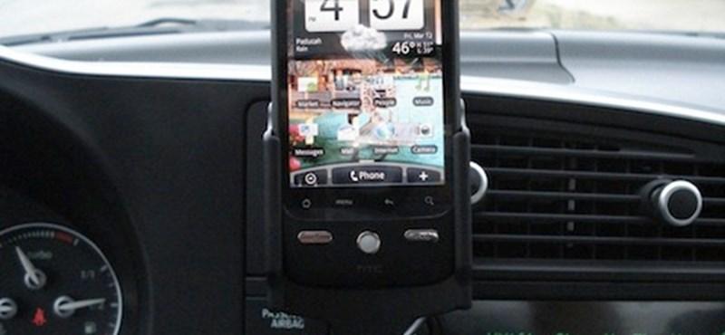 Az autók holnap megeszik az okostelefonokat