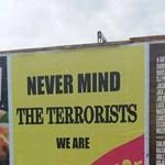 """""""Oda se a terroristáknak, mi Manchester vagyunk!"""""""