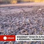 Teljesen kiszáradt több tó Debrecen közelében