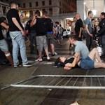 Videón a pillanat, amikor kitört a pánik Torinóban
