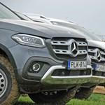 Döntsd a tőkét, ne siránkozz: Mercedes X-osztály-menetpróba