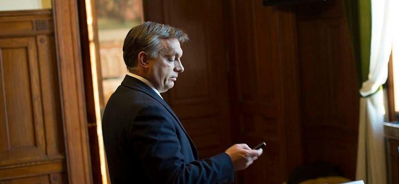 Orbán Viktor mobilja tűnhetett el a lánya lagziján