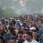 Feladta a migránskaraván 105 tagja, inkább hazamentek