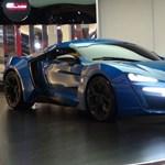 Szalonban árulják a 3,4 millió dolláros arab sportkocsit?