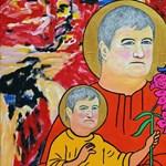 Most Tállai államtitkárról készített festményt drMáriás – fotó