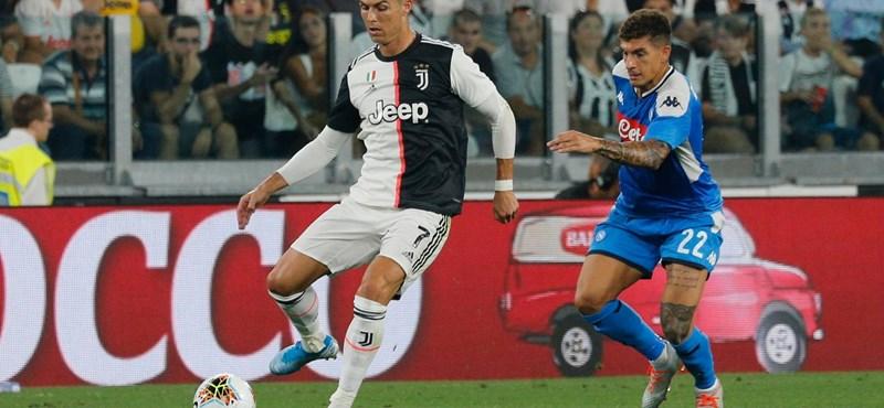 Őrült meccsen győzte le a Juventus a Napolit – videó