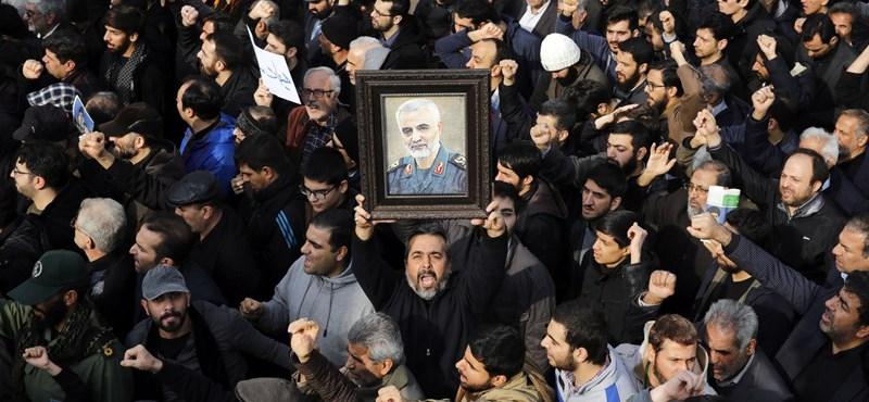 """Nem biztos, hogy Irán kilép az atomalkuból, de """"arányos választ"""" ad Szulejmáni meggyilkolására"""