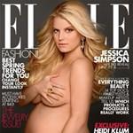 Fotó: működik még a terhes akt címlapon? Jessica Simpson kipróbálta