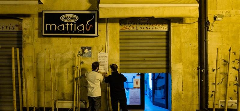 Dél-Olaszország most attól fél, hogy velük is ugyanaz megtörténik