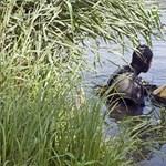 A kisfiával a hátán úszott a horgász, mindketten megfulladtak