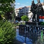 Négy fiatalt gyanúsítanak a sepsiszentgyörgyi Vitéz Mihály-szobor megrongálásával