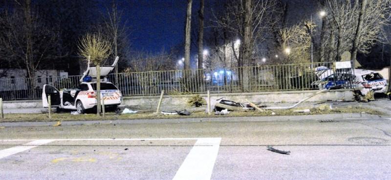 Vádat emeltek a halálos újpesti rendőrautó-baleset ügyében