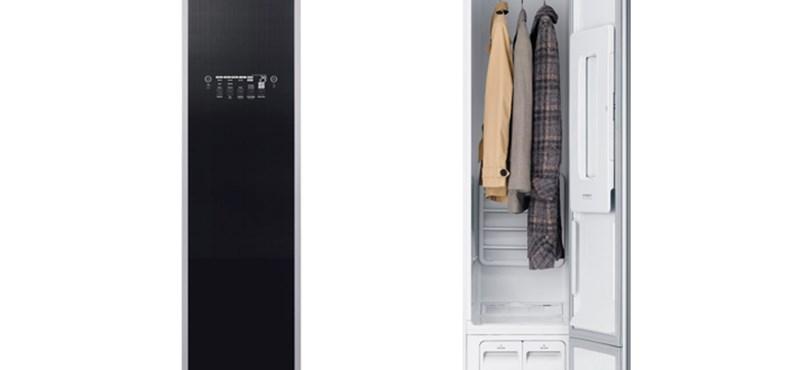 Mosógép helyett: ruhafrissítő szekrényt mutatott be az LG