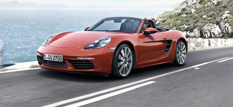 Több erő, kevesebb henger, megjött az új Porsche Boxster