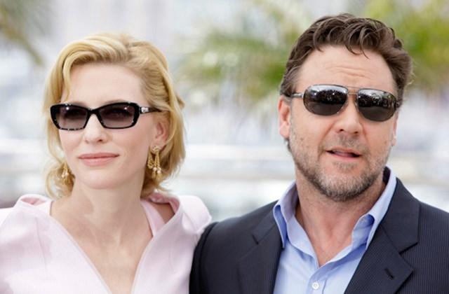 Cate Blanchett Oscar-díjas ausztrál színésznő és Russel Crowe  Oscar-díjas ausztrál színész