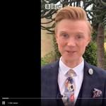 A karantén előcsalogatta a rocksztárt a BBC időjósából