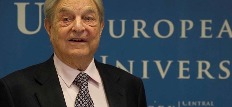 Soros: az oroszok megtámadták Európát