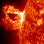 Szokatlanul aktív mostanában a Nap