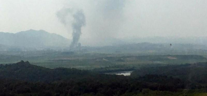 Elmondta Észak-Korea, miért robbantotta fel a Korea-közi összekötő irodát