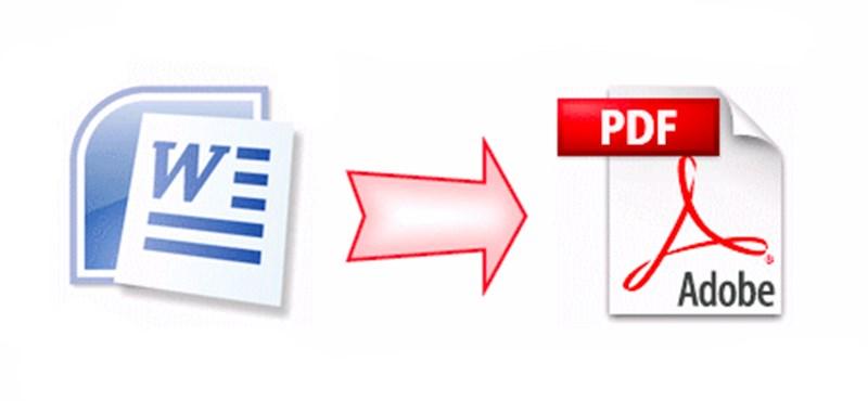 Ennél egyszerűbben nem lehet dokumentumból PDF-et készíteni