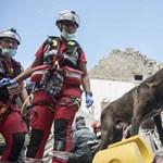 Olasz földrengés: eddig 215 túlélőt találtak, módosították a halottak számát