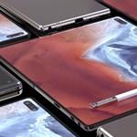 Speciális kijelzőt kaphat a Samsung Galaxy Fold 2