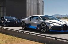 1,7 milliárd forint egy ilyen Bugatti Divo, de már mindet előre eladták